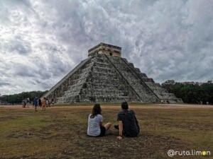 Piramide de Kukulcan en Chichen Itzá