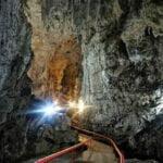 Camino principal de la cueva - que ver en Chiapas