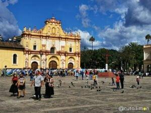 Plaza principal en San Cristobal de las Casas - que ver en Chiapas