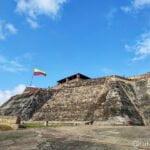 Fachada del Fuerte de San Felipe