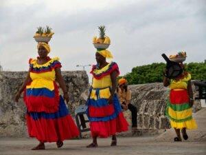 Fruteras en Cartagena de Indias, Colombia