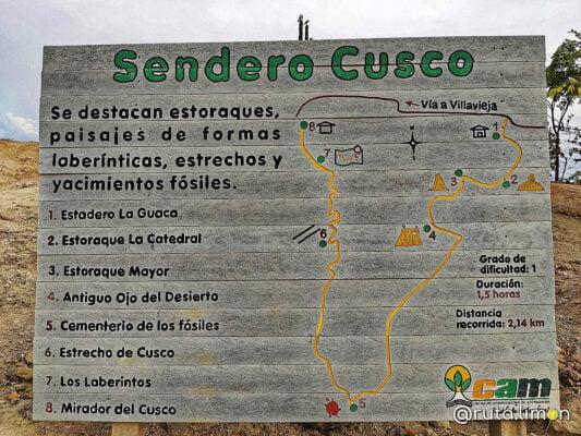 sendero Cusco desierto Rojo