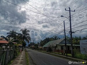 Calle en Isla Colón - Bocas del Toro