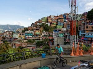 Imagen de la Comuna 13, Medellín