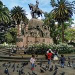 Plaza en Salta Argentina