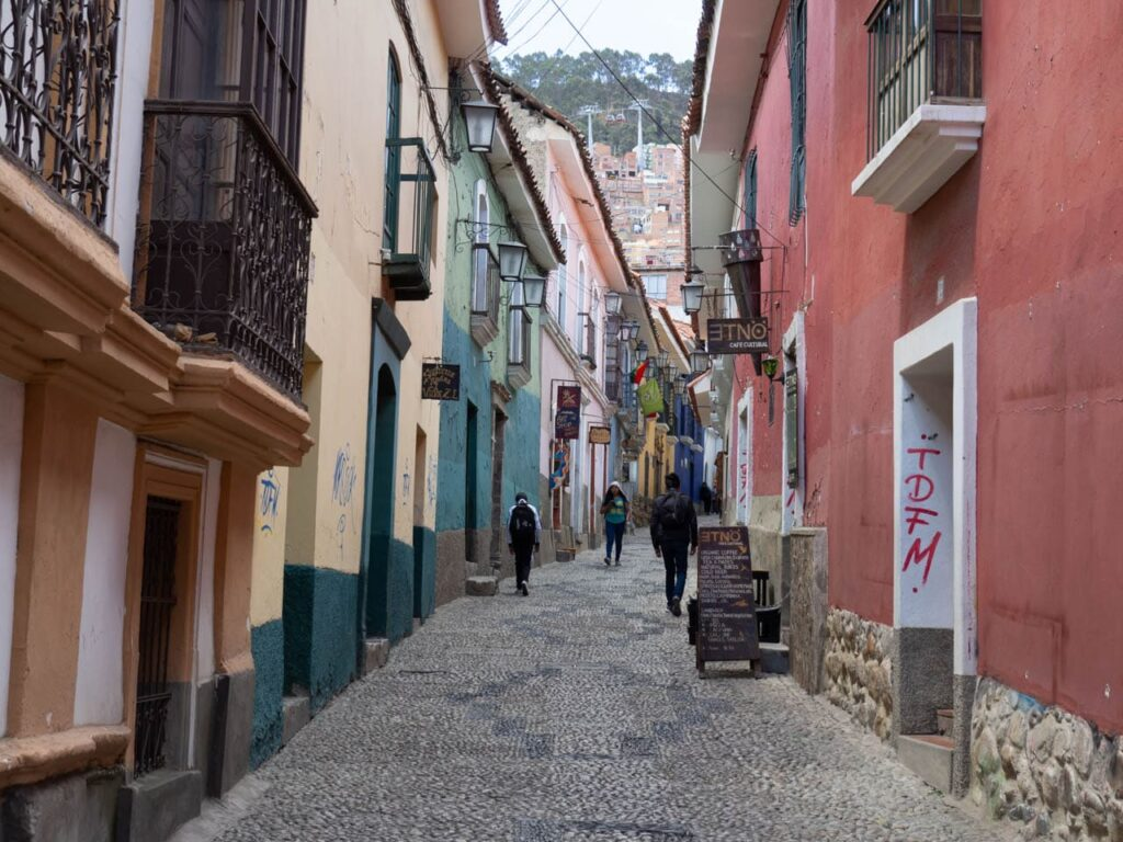 Bolivia La Paz Calle Jaen